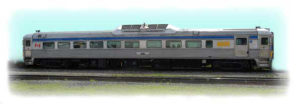 Rail Diesel Car-2 - VIA Rail Canada