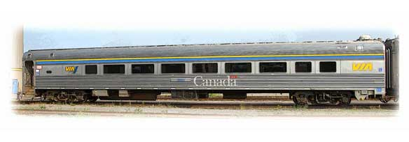 Voiture Club Galley - VIA Rail Canada