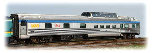 Park car - VIA Rail Canada