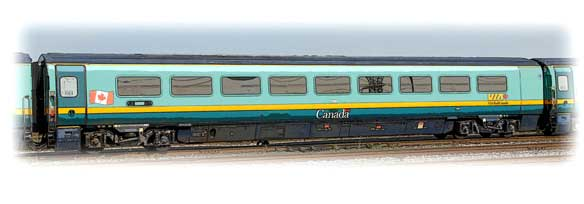 Renaissance Coach car - VIA Rail Canada
