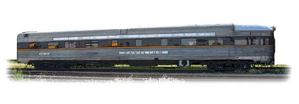 Observation Club car - VIA Rail Canada