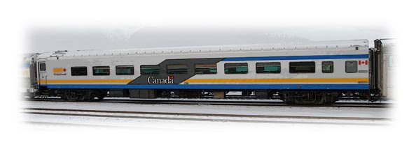 Lounge car - VIA Rail Canada